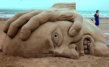 Sandhandface